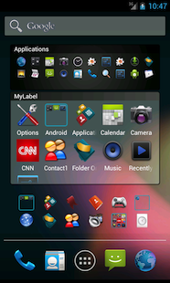 Folder Organizer Customize Your Android Home